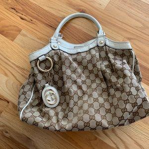 Authentic Gucci bag & wallet set